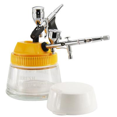 Airbrush hoidja, puhastamise purk