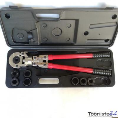 Alupex presstangid 16-32mm PEX/AL. U TH 8 tallaga