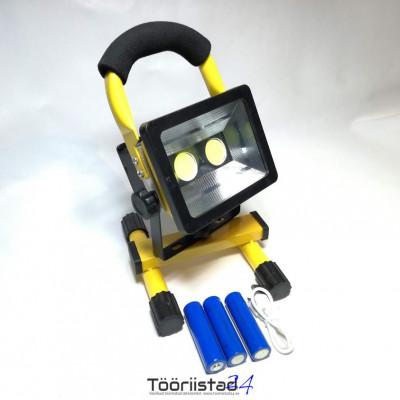 Led akuga töölamp alusel.30W