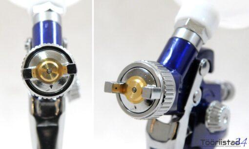 Värvipüstol ülamahutiga. Düüs 0.8mm. (121)