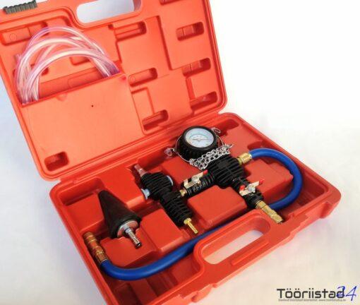 Jahutussüsteemi täitmise-õhutamise komplekt (vaakum)