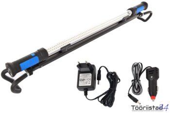 Led töölamp-valgusti aku ja hoidikuga. 103 cm