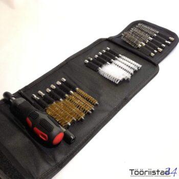 Pihustipesa puhastusharjade komplekt 9-19mm