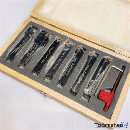 Treiterade komplekt 12X12mm 7osa