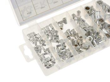 Neetmutrite komplekt alumiinium M3-M10 150 osa