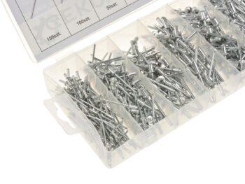 Neetide komplekt alumiinium 400 osa 2.4-4.8mm