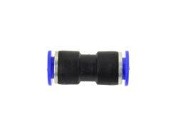 Automaatne sirge liitmik pneumaatiliste painduvate voolikute ühendamiseks erinevates pneumaatilistes seadmetes.