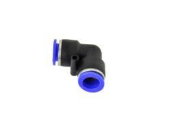 Automaatne nurk 8mm liitmik pneumaatiliste painduvate voolikute ühendamiseks erinevates pneumaatilistes seadmetes.