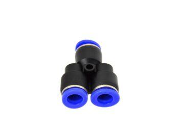 Pneumo torude kiirühendus - kolmik Y - 6mm