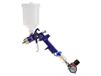 Värvipüstol 1.4mm HVLP 600ml regulaatori ja vee-eraldajaga