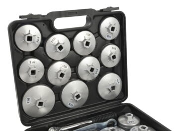 Õlifiltrivõtmete komplekt 23 osa alumiinium
