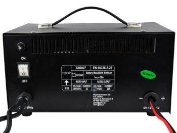 Akulaadija start funktsiooniga 6/12/24 V 100A