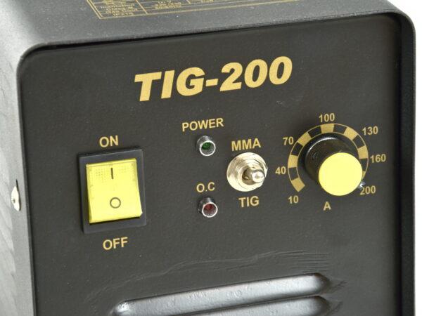 Inverterkeevitus TIG / MMA  200HS 230V