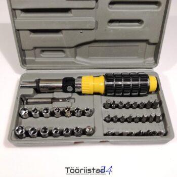 Universaalne mini tööriistakomplekt 41osa