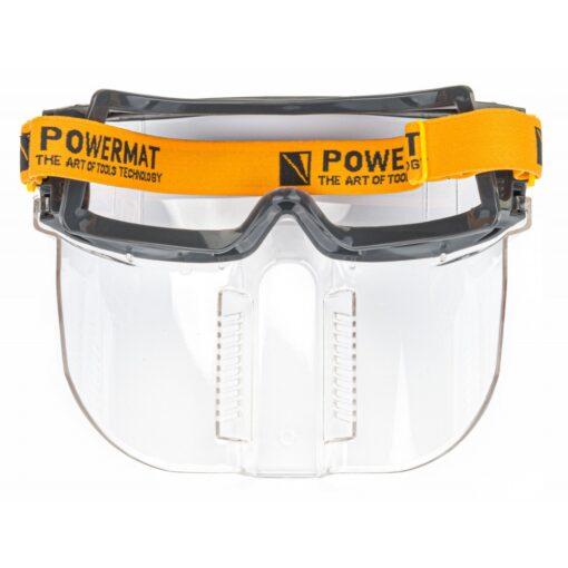 Kaitseprillid ventileeritava maskiga