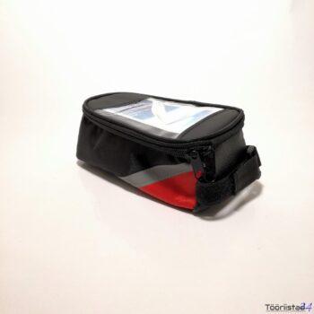 Jalgratta raamile kinnituv kott + telefoni hoidja