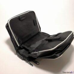 Jalgratta raamile kinnituv kott + telefoni hoidja (külg)