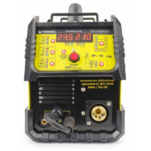 Traatkeevitus inverter 210A MIG/MAG /MMA /LIFT-TIG SYNERGY