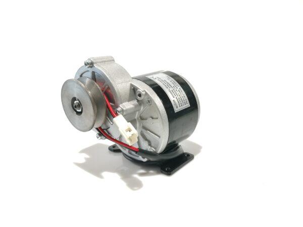 Elektrimootor 24V 350W reduktori ja kiilrihma rattaga