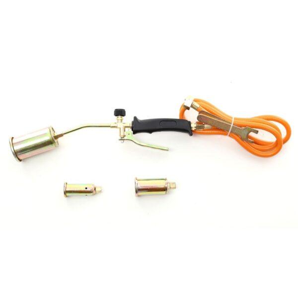 Väike gaasipõleti kolme otsaga 25- 35- 50 mm KD