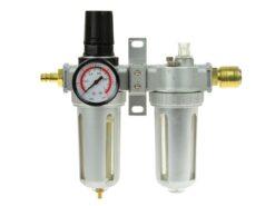 Õhufilter, reduktor, õlitaja, dehüdraator 1/2 kiirliitmikega