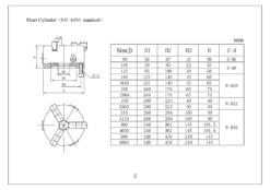 Treipingi padrun 200mm DIN6350 D-11