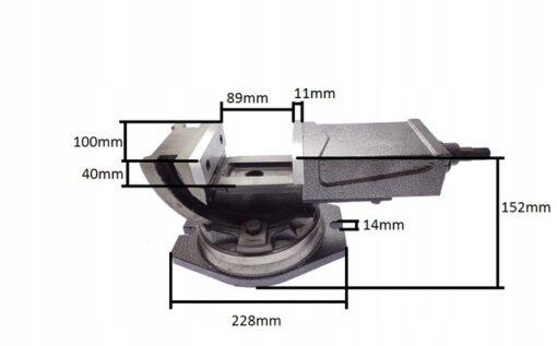 Masina kruustangid 100mm Q 41, kallutatavad